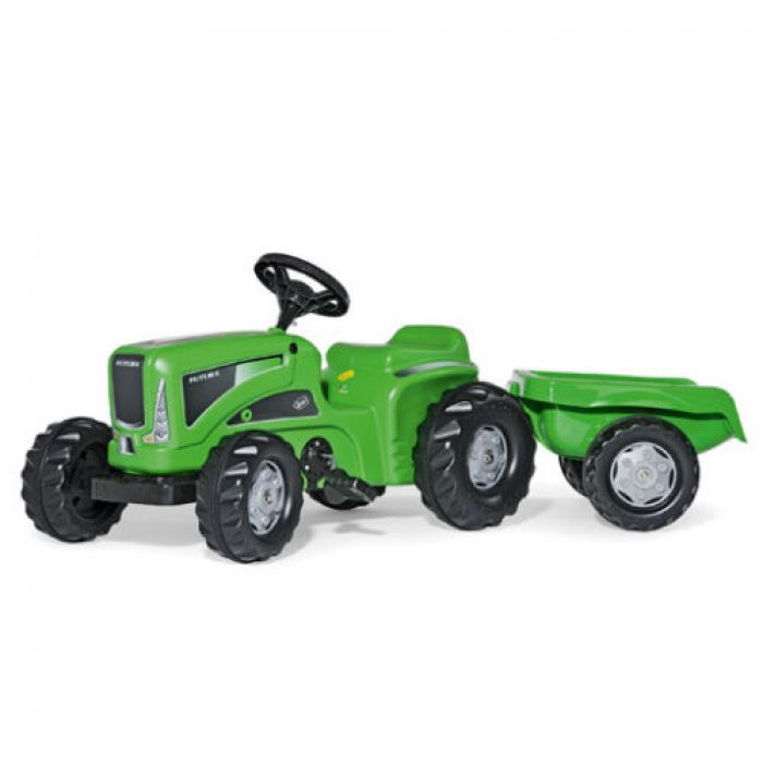 Rolly Rolly Kiddy Futura Tractor With Rolly Kid Trailer Thumnail #0