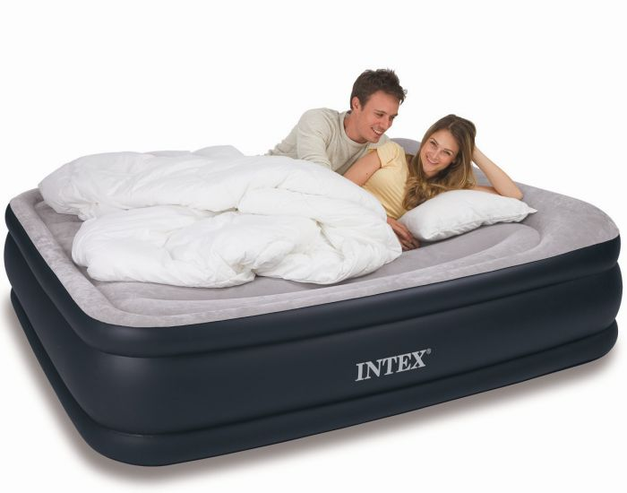 Intex Queen Size Deluxe Pillow Rest Raised Air Bed 80 Quot X