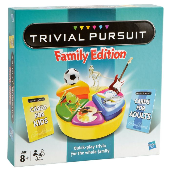 hasbro trivial pursuit family game puzzles games. Black Bedroom Furniture Sets. Home Design Ideas