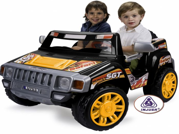 Injusa Safari Pick-Up Two Seater Jeep - 12 Volt Thumnail #0