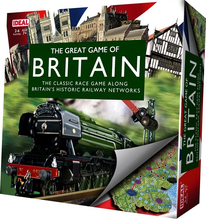 The Great Game Of Britain Board Game - Puzzles & Games
