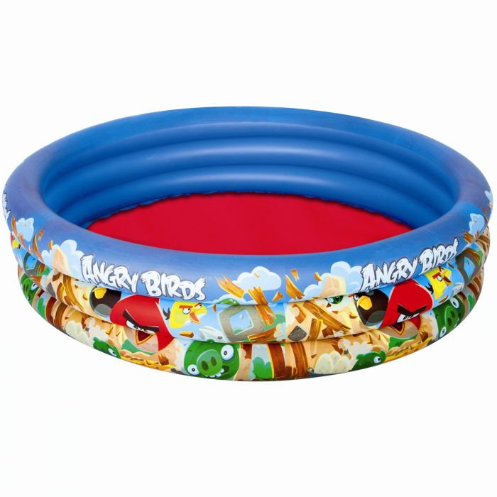 Angry Birds 3 Ring Paddling Pool - 96108 Thumnail #0