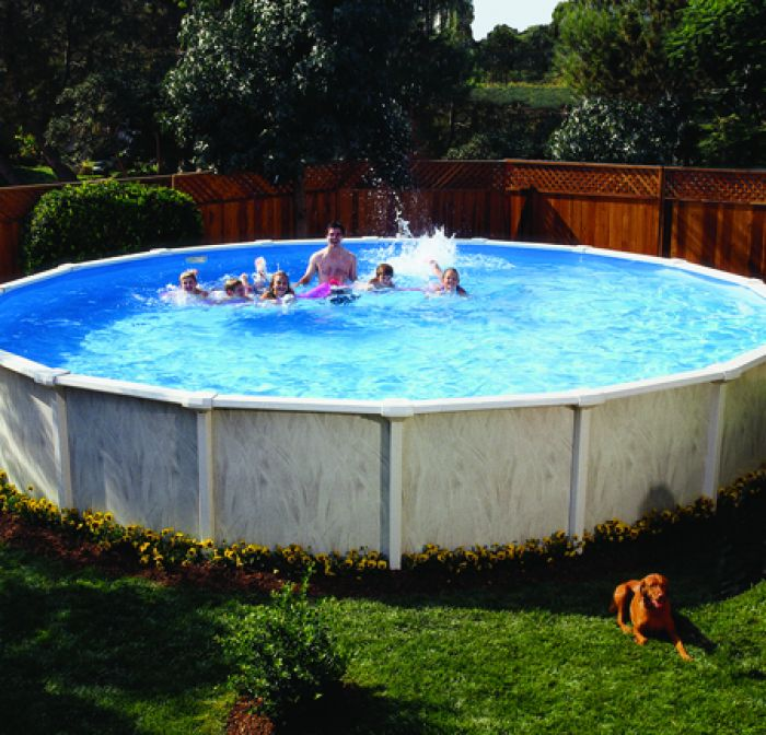 Doughboy Regent Round Steel Pool 15ft With Super Kit Steel Pools