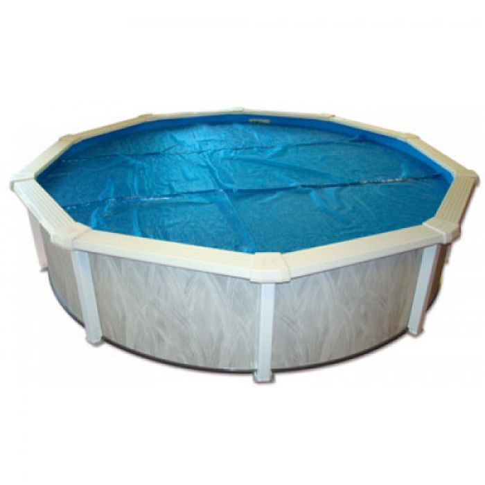 Doughboy regent round steel pool 18ft steel pools for Swimmingpool rund