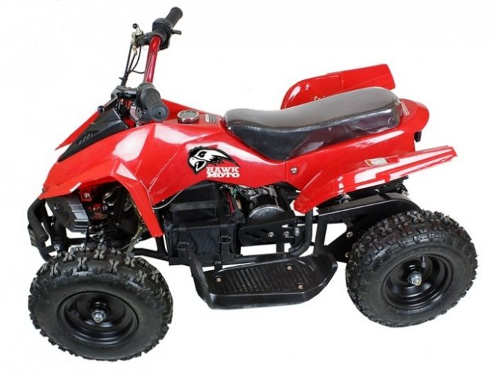 Electric 500w 36v Quad Bike - Red Thumnail #0