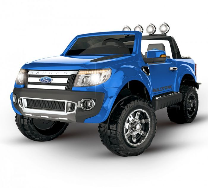 Ford Ranger Licensed 12v Ride On - Blue Thumnail #0