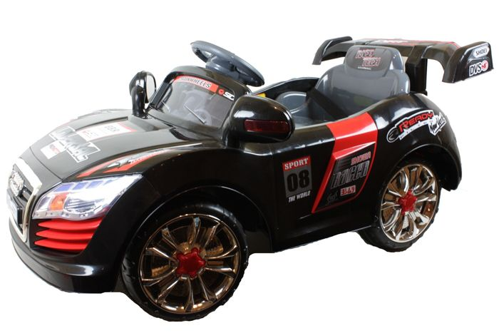 6 Volt Battery Powered Ride On Car Audi GBA011 - Black Thumnail #0