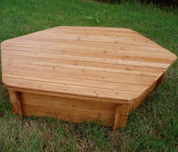 Sand Box Wooden Lid