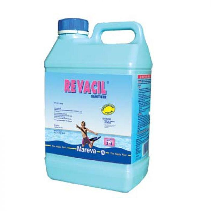 Revacil Biguanide Pool Treatment 5 Litres X 4 Chemicals