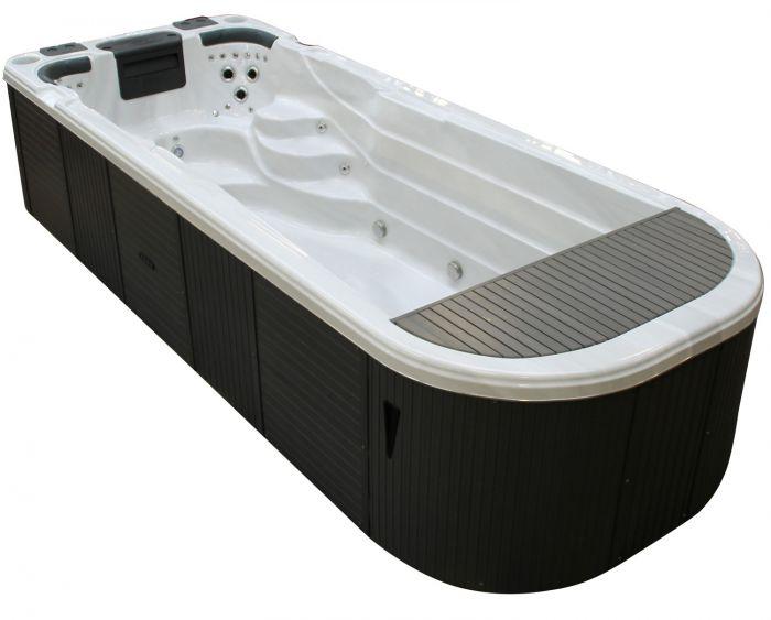 Perthshire 6 metre turbine swim spa garden hot tubs - Hotels in perthshire with swimming pool ...