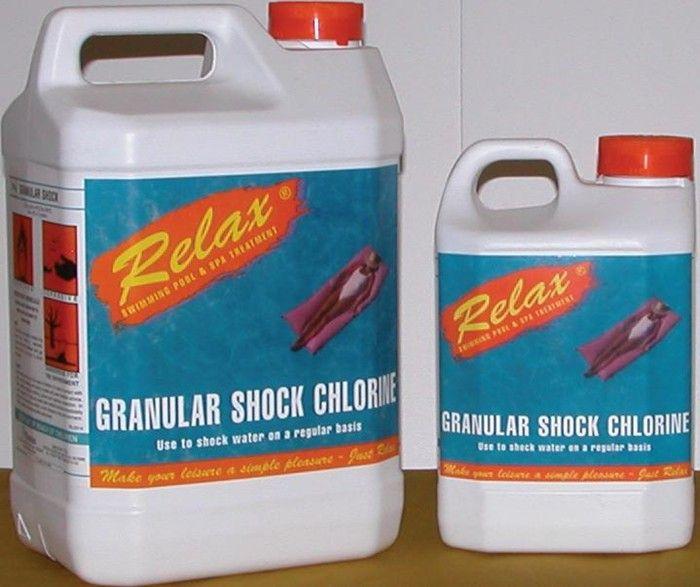 Granular Shock Chlorine 10kg Bucket Chemicals For Spas Above In Ground Pools