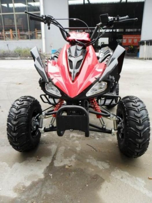 Predator 110cc 4 Stroke Quad Bike With Reverse - Red Thumnail #0