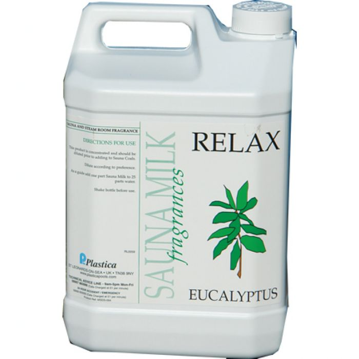Eucalyptus Sauna Fragrance 5 Litres x 4 - Sauna Accessories
