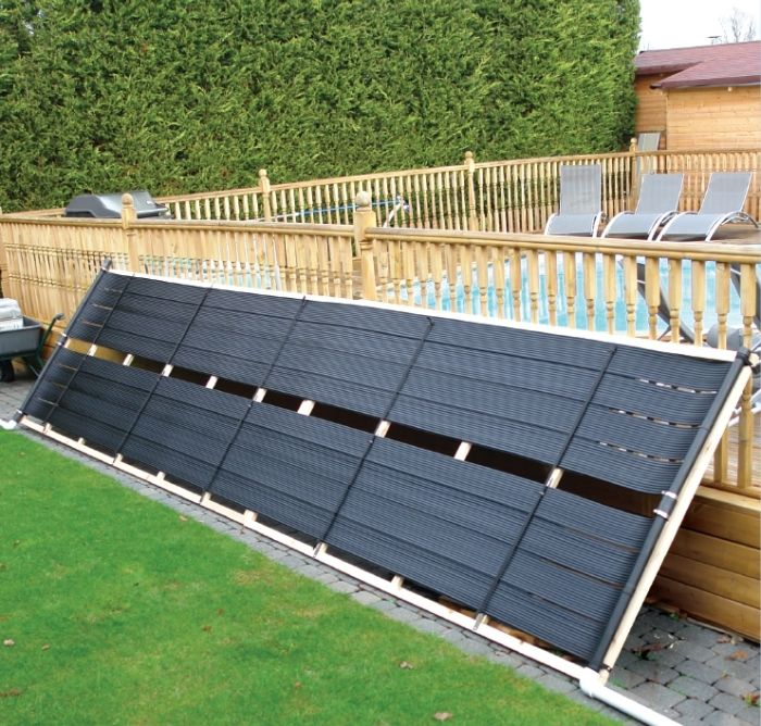 Solar Pool Heating Kit For In Ground Pools Pool Heating