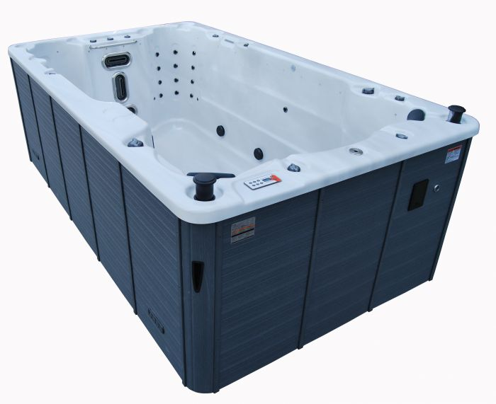 canadian spa st lawrence 13ft swim spa garden hot tubs. Black Bedroom Furniture Sets. Home Design Ideas