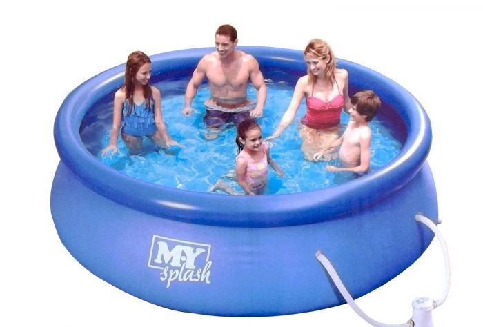 Summer Escapes Quick Set Round Inflatable Pool 10ft X 30