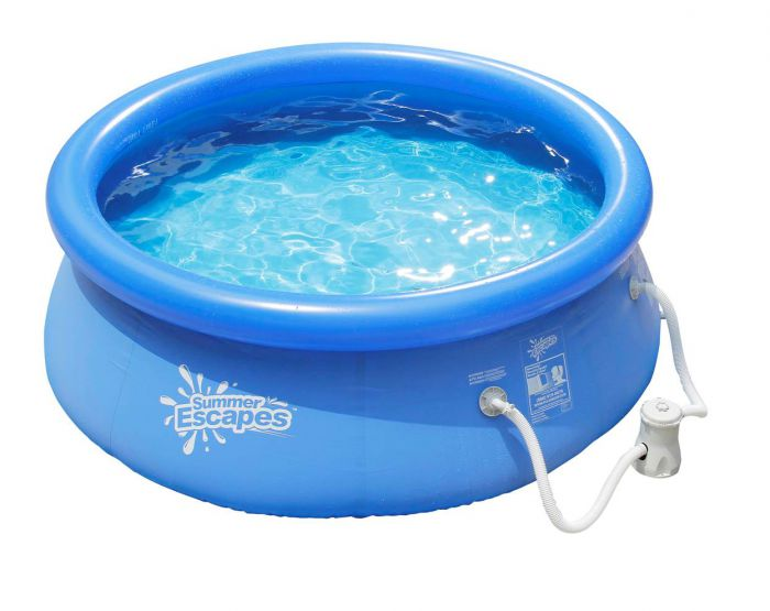 Summer Escapes Quick Set Round Inflatable Pool 12ft X 30 Quot
