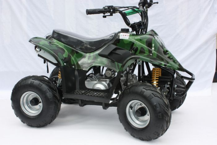 Thunder Cat 110cc 4 Stroke Quad Bike - Camo Thumnail #0