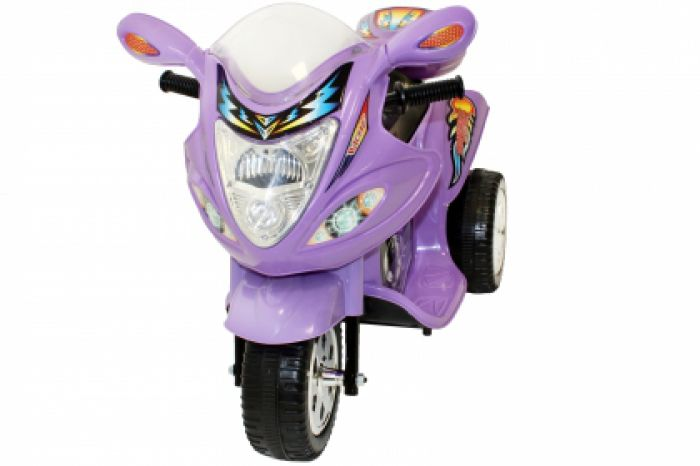 Childrens Trike 6v Ride On Toy - Purple Thumnail #0