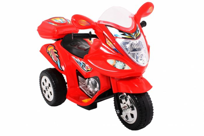 Childrens Trike 6v Ride On Toy - Red Thumnail #0