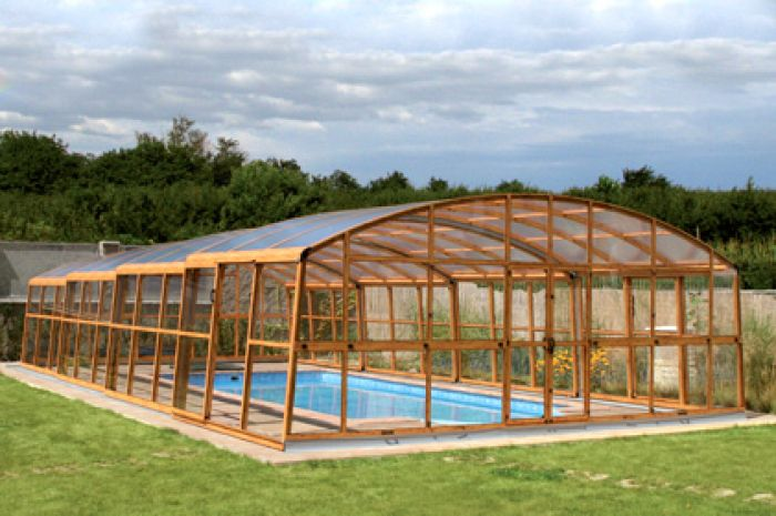 Casablanca B Telescopic Pool Enclosure 42ft X 22ft Full