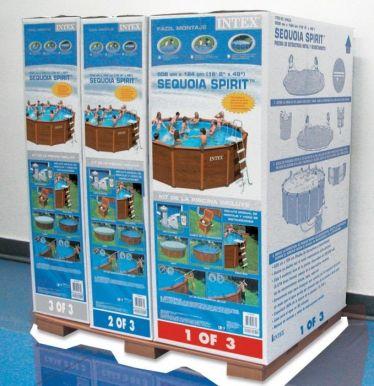 metal frame swimming pools metal frame pools splash. Black Bedroom Furniture Sets. Home Design Ideas