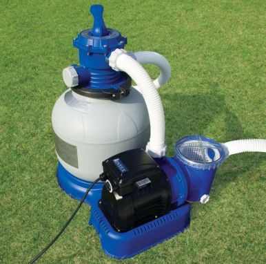 how to clean piscine pump