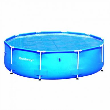 Solar pool cover for 12ft round inflatable pools for 12ft solar swimming pool covers