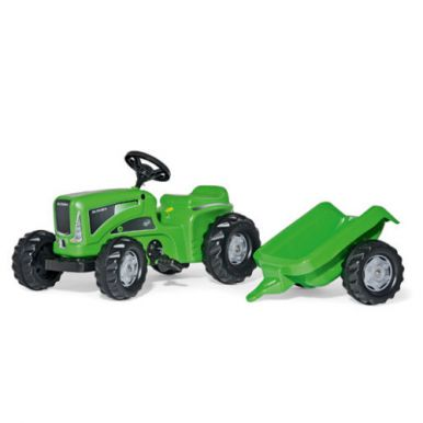 Rolly Rolly Kiddy Futura Tractor With Rolly Kid Trailer