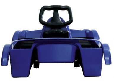 Snow Double Racer Blue Sledge Toboggan