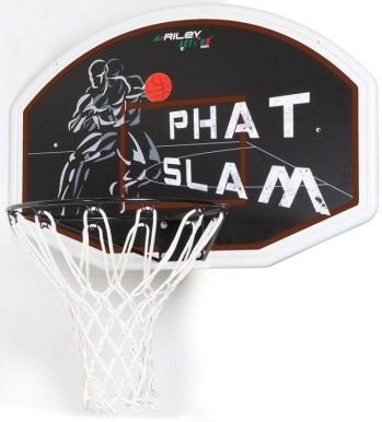 Phat Slam Premium ABS Basketball Backboard & Net Set