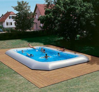 Zodiac Hippo Original Rectangular Pool 16 55m X 8 25m