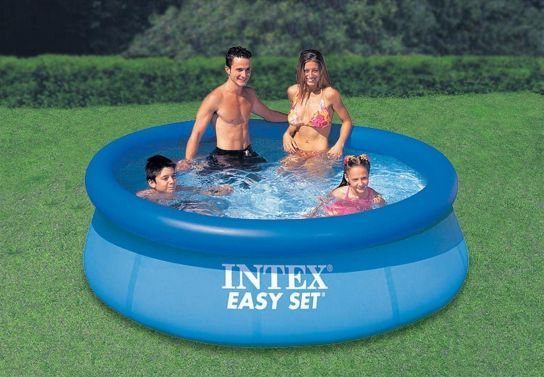 Easy Set Inflatable Pool - 28110 - 8ft x 30in (No Pump) by Intex