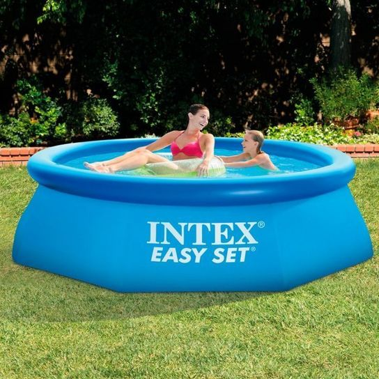 Easy Set Inflatable Pool With Pump - 28112 - 8ft x 30in by Intex