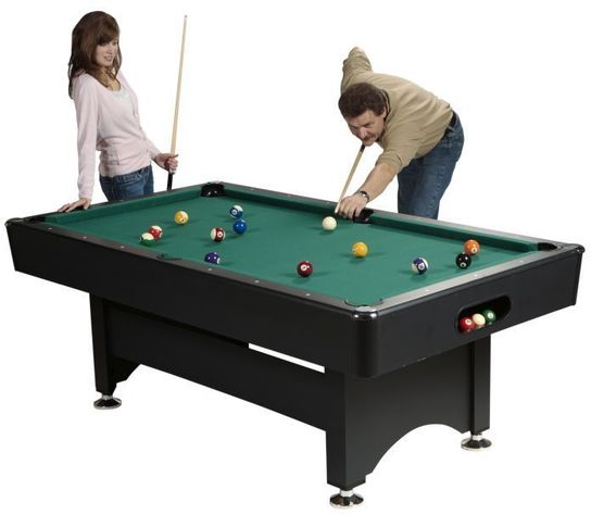 6ft Harvard Pool Table With Ball Return