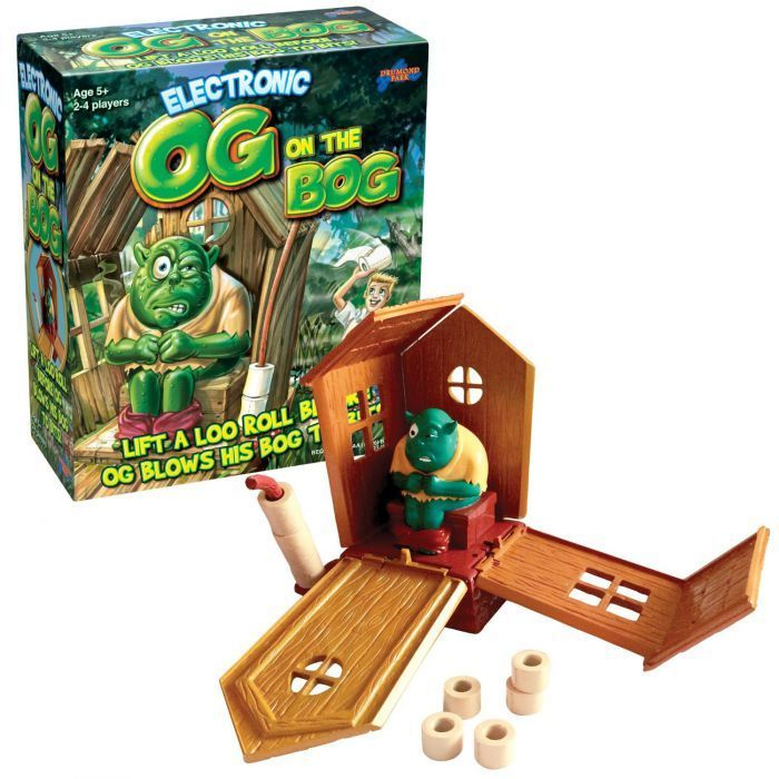 Og on the Bog Action and Reflex Game - Puzzles & Games