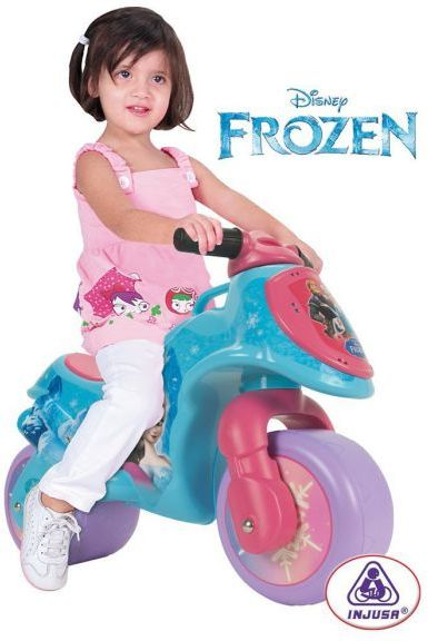 Injusa Frozen Foot To Floor Pedal Bike Ride On Toys