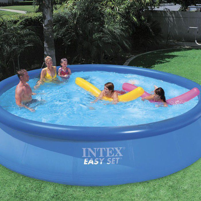 Intex easy set inflatable pool package 15ft x 36 28164 Intex inflatable swimming pool