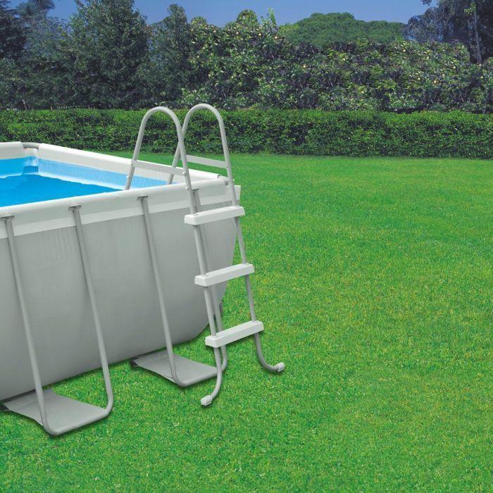 Intex Ultra Frame Rectangular Metal Frame Pool Package 157 1 2 X 78 3 4 X 39 3 8
