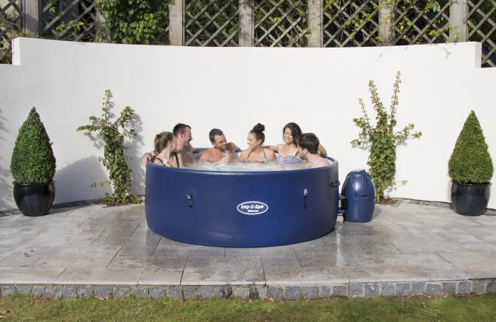 Lay Z Spa Monaco Rigid Portable Hot Tub Thumnail #1