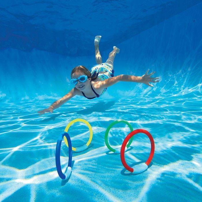 Underwater Fun Rings Pool Toys And Games