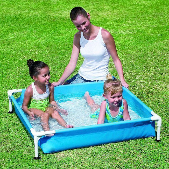 "Bestway My First Frame Pool 48"" x 48"" x 12"" - 56217 Thumnail #1"
