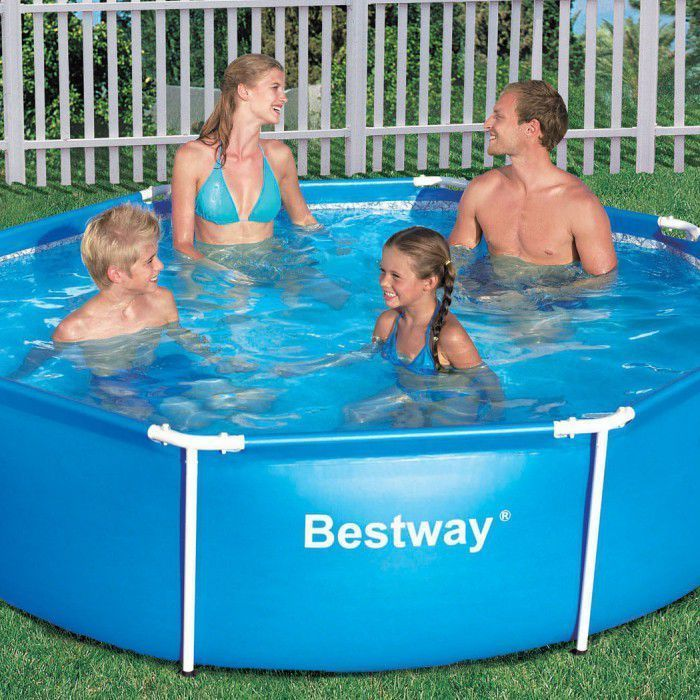8ft x 24 octagonal paddling pool 56431 paddling pools for Paddling pool filter