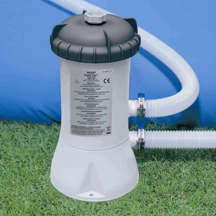 Intex Pool Filter Pump 1000 Gall Hr Pool Pumps Filters Counter Current