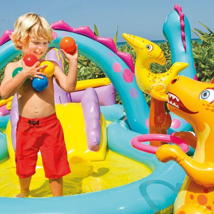 Dinoland Play Centre Paddling Pool - 57135 Thumnail #1
