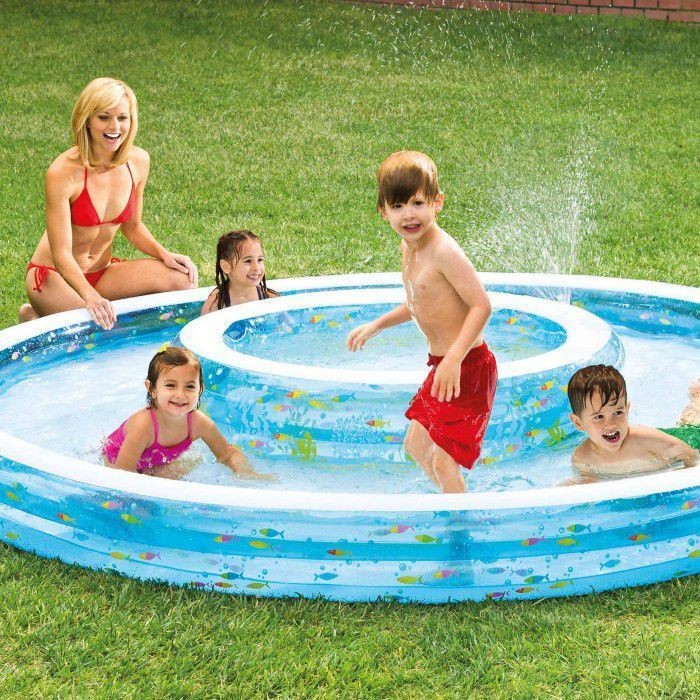 Intex Wishing Well Inflatable Swim Center Fun Baby Swimming Pool  - 57143NP Thumnail #1