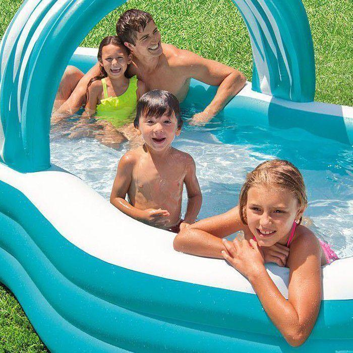 intex swim centre family cabana pool 57198np paddling pools. Black Bedroom Furniture Sets. Home Design Ideas