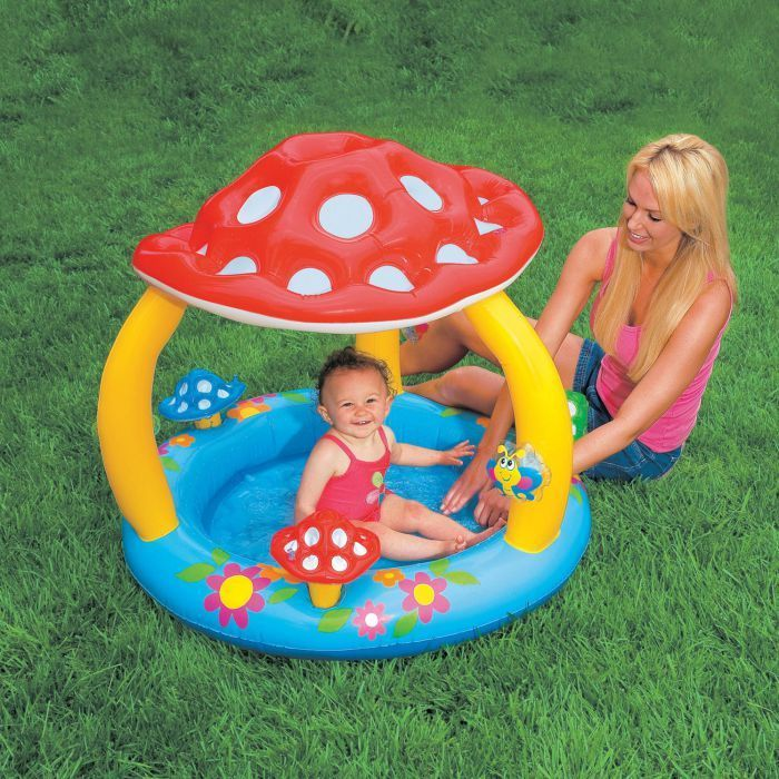 Mushroom baby paddling pool 57407 paddling pools for Baby k piscinas
