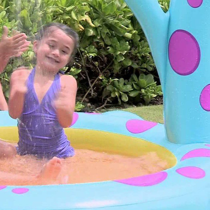 Dino Spray Paddling Pool - 57437 Thumnail #1