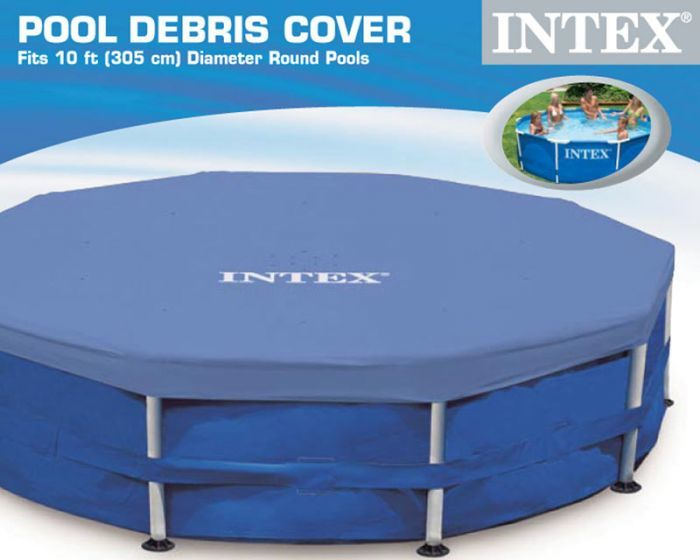 10ft Winter Debris Pool Cover Intex Metal Frame Pool